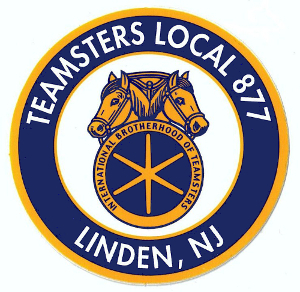 The International Brotherhood of Teamsters Local 877 was founded in 1970 and represents over 600 oil, chemical and terminal workers in New Jersey. Local 877 is a proud member organization of Teamsters Joint Council 73 and the New Jersey Work Environment Council.